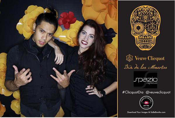 2014-11-1 Veuve Cliquot at Spazio Nightclub