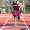 2014-04-09 Outdoor Track Canton VS Stafford V (109) Long Jump Noah Wyatt