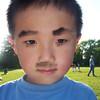 2005-05-19 Noah Close-up Wtih Mustache
