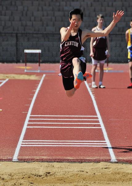 2014-04-12 Canton Track Invitational V (153) Long Jump Wyatt
