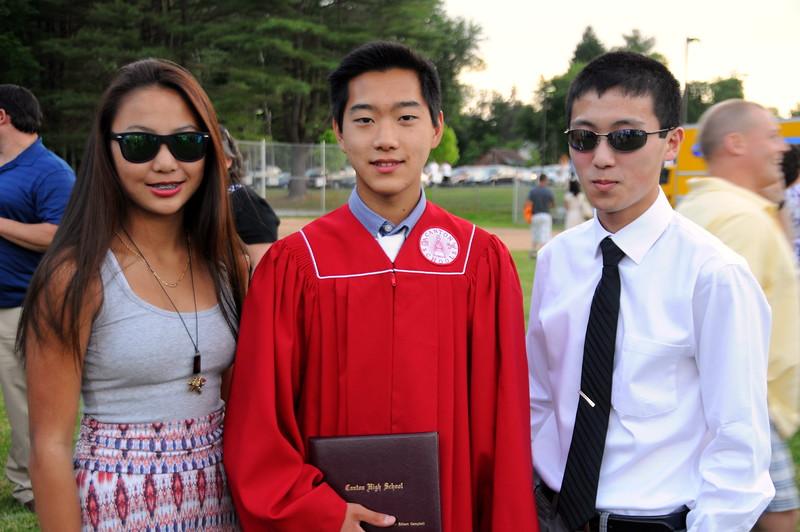 2014-06-20 Wyatt's High School Graduation X (371) WYNOEL Elise Wyatt Noah