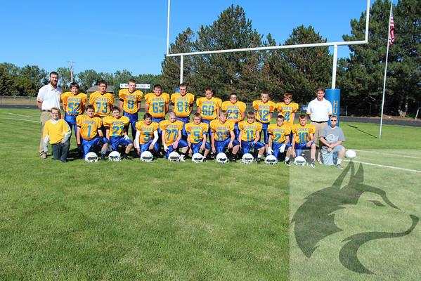 JH Football Team Pics