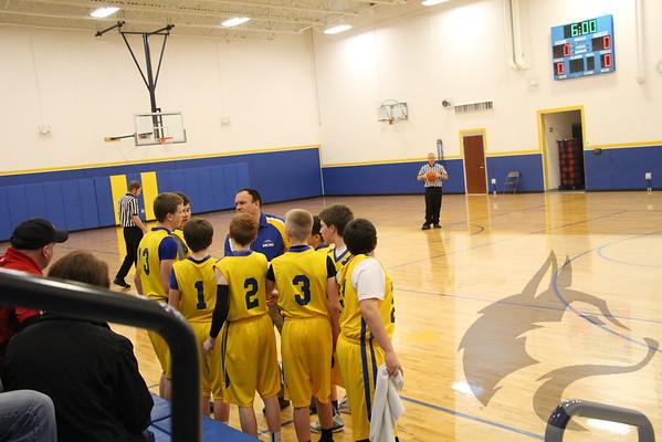 2/5 JH Boys Basketball vs. O'neill