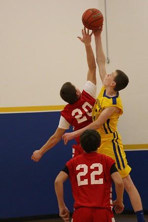 1/19 JH Boy's Basketball