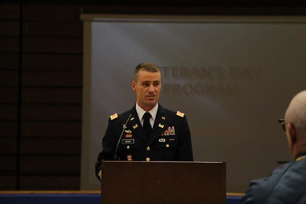Veteran's Day Program 2014