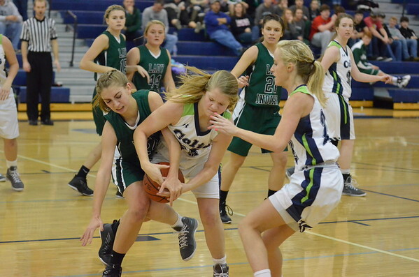 Varsity Girls vs Murray County 1-9-15