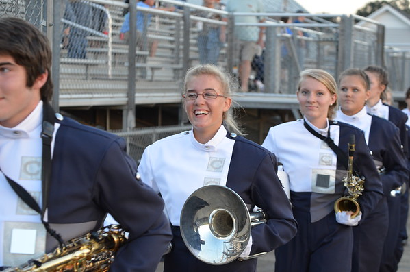 CCHS Band @ Sonoraville 9-19-14