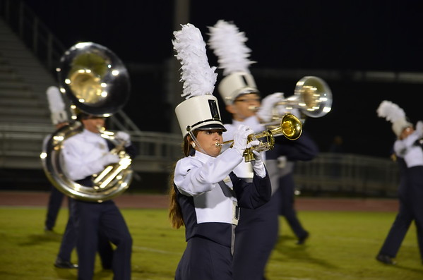 CCHS Band vs N Murray 10-17-14