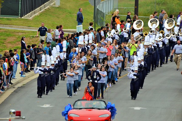 CCHS Homecoming Parade 10-16-14