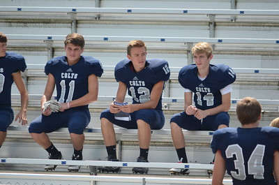 CCHS Football-Band Pic Day 023