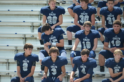 CCHS Football-Band Pic Day 036