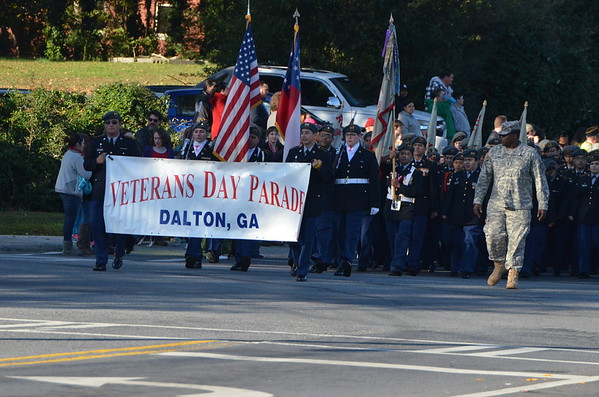 Veteran's Day Parade 2014
