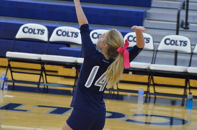 CCHS Volleyball vs Sonoraville Varsity 9-9-14 007