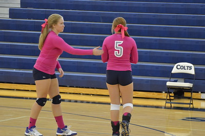 CCHS Volleyball vs Sonoraville Varsity 9-9-14 048