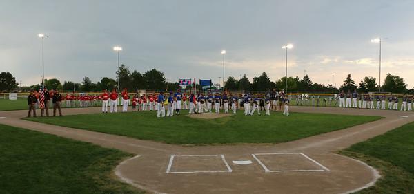 9-under Regional Baseball Opening Ceremonies
