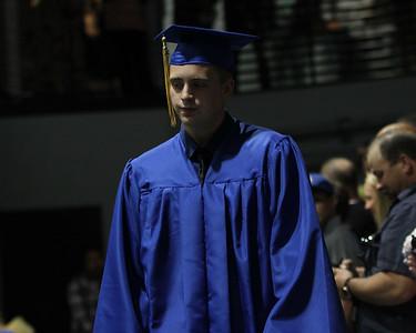 Gering Graduation -- Walking In