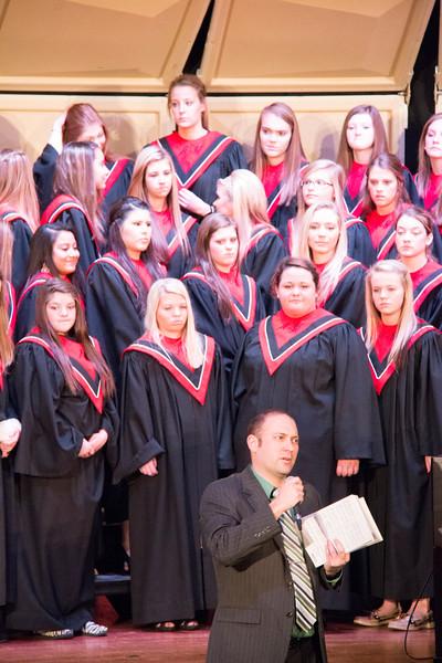 Choir Holiday Concert