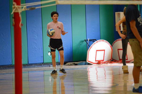 7th & 8th Grade Powder Puff Volleyball