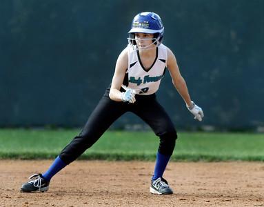 Girls softball game