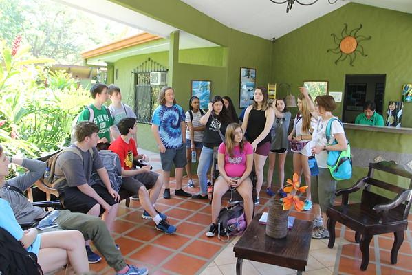Upper School Trip to Costa Rica 2015