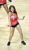 PHILADELPHIA - NOVEMBER 17: A Temple Diamond Gem (dance team) performs on the court during the NCAA basketball game November 17, 2014 in Philadelphia.