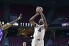 PHILADELPHIA - NOVEMBER 17: Temple Owls guard Daniel Dingle (4) shoots a jump shot during the NCAA basketball game November 17, 2014 in Philadelphia.