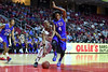 PHILADELPHIA - NOVEMBER 17: Temple Owls guard Will Cummings (2) is fouled during the NCAA basketball game November 17, 2014 in Philadelphia.