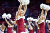 PHILADELPHIA - FEBRUARY 26: The Temple Owls cheerleaders perform during the AAC conference college basketball game  February 26, 2015 in Philadelphia.