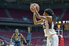 PHILADELPHIA - NOVEMBER 14:  Temple Owls guard Tyonna Williams (23) takes a jump shot during the season opening ladies basketball game against LaSalle November 14, 2014 in Philadelphia.