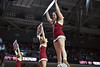 PHILADELPHIA - JANUARY 14: The Temple cheerleaders perform during the AAC conference college basketball game January 14, 2015 in Philadelphia.