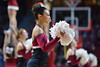 PHILADELPHIA - JANUARY 14: The Temple Diamond Gems dance team performs during the AAC conference college basketball game January 14, 2015 in Philadelphia.