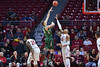 PHILADELPHIA - JANUARY 22: South Florida Bulls forward/center Ruben Guerrero (33) shoots over a Temple defender during the AAC conference college basketball game January 22, 2015 in Philadelphia.