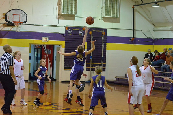 11-12 NW Lady Dawgs vs NW Purple Rain 12-12-14