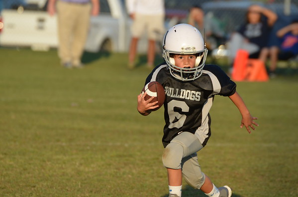 5-6 Cohutta Bulldogs vs Varnell Colts 9-30-14