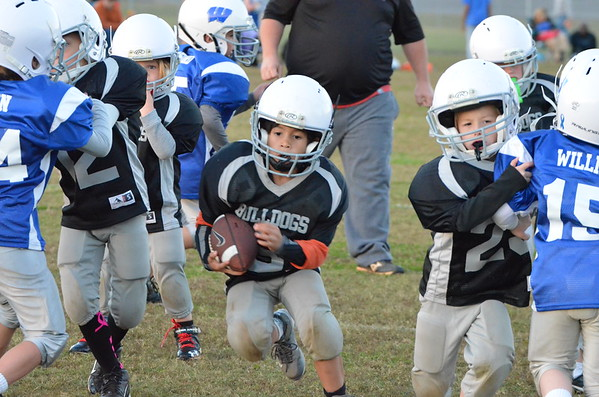 5-6 Cohutta Bulldogs vs WS Rockets 10-30-14