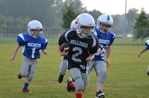5-6 Cohutta Bulldogs vs WS Rockets 9-15-14