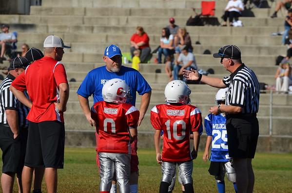 7-8 Cohutta Bulldogs vs Beaverdale Wildcats 9-20-14