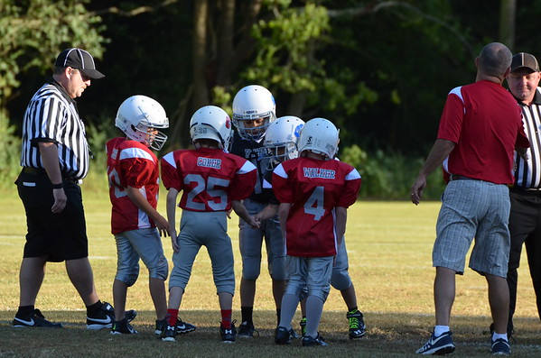 7-8 Cohutta Bulldogs vs WS Rockets 9-22-14