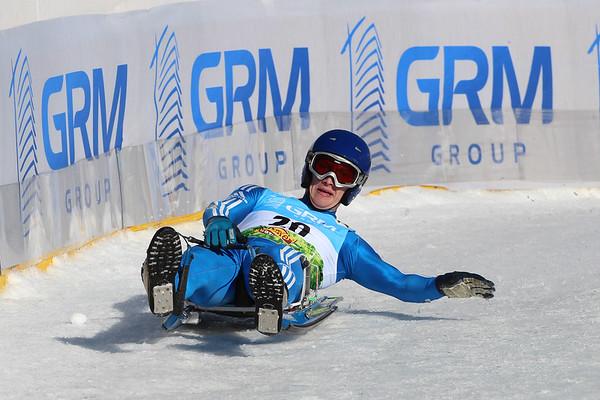 1st GRM Group Luge World Cup 2014/15 Kühtai, Austria