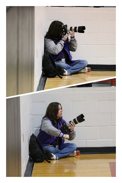 Photographer to referee in the blink of a shutter!