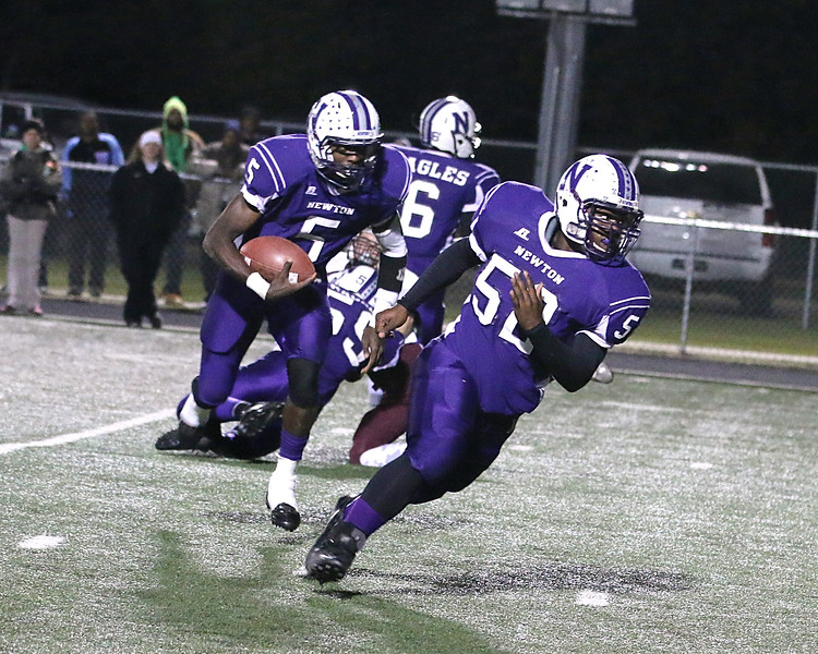Newton High School, Texas football playoff New Waverly