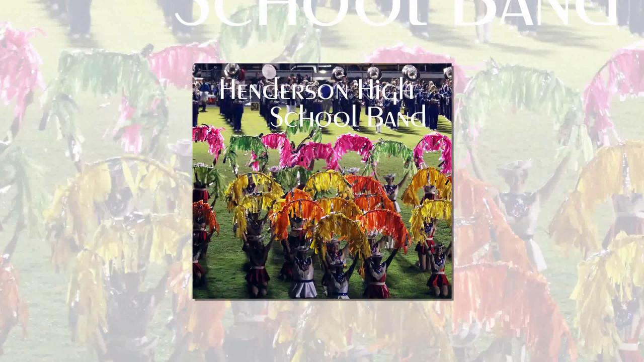 Henderson High School Band, Henderson, Texas