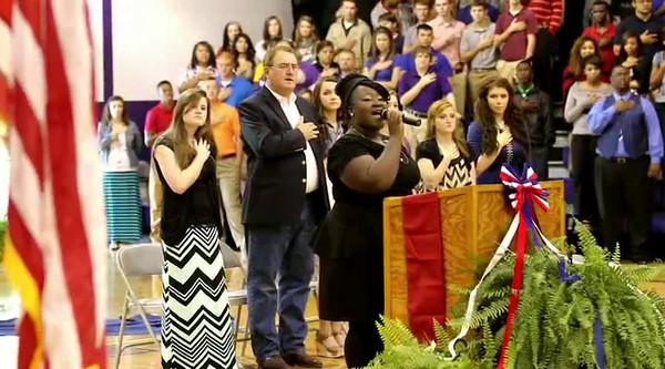 Newton High School, Texas Veterans Day