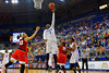 Florida Gators guard Ronni Williams puts up a shot attempt during the first half.  Florida Gators Womens Basketball vs Georgia Bulldogs.  February 28th, 2015. Gator Country photo by David Bowie.