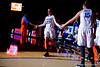 Florida Gators guard Brooke Copeland during player introductions.  Florida Gators Womens Basketball vs Georgia Bulldogs.  February 28th, 2015. Gator Country photo by David Bowie.