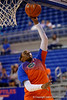 Florida Gators guard January Miller during pre-game shooting drills.  Florida Gators Womens Basketball vs Georgia Bulldogs.  February 28th, 2015. Gator Country photo by David Bowie.