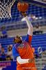 Florida Gators guard January Miller during pre-game shooting drills.  Florida Gators Womens Basketball vs Georgia Bulldogs.  February 28th, 2015. Gator Country photo by David Bowie.