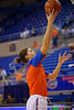 Florida Gators center Viktorija Dimaite during pre-game shooting drills.  Florida Gators Womens Basketball vs Georgia Bulldogs.  February 28th, 2015. Gator Country photo by David Bowie.
