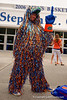 A Florida Gators fan waits outside to the doors to open.  Florida Gators Womens Basketball vs Georgia Bulldogs.  February 28th, 2015. Gator Country photo by David Bowie.