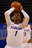 Florida Gators guard Ronni Williams takes a free throw during the second half.  Florida Gators Womens Basketball vs Georgia Bulldogs.  February 28th, 2015. Gator Country photo by David Bowie.